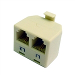 Calrad 70-489 Two Line Splitter