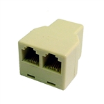 "Calrad 70-494<br>3-Way 4 Wire Female ""T"" Connector"