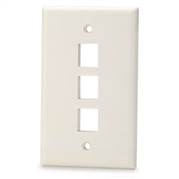 Calrad Electronics 72-230-3-Color 3 Cavity Keystone Plate