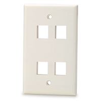 Calrad Electronics 72-230-4-Color 4 Cavity Keystone Plate