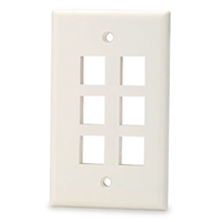Calrad Electronics 72-230-6-Color 6 Cavity Keystone Plate