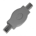 Calrad 72-254 USB Adapter Male to Male Type B