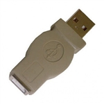 Calrad 72-255 USB Adapter Type A Male to Type B Female