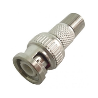 "75-517 Calrad Electronics ""F"" Female to BNC Male Adapter"