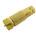 "Calrad Electronics 75-528G BNC female to ""F"" male - Gold version"