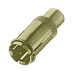 "Calrad Electronics 75-532G Gold RCA Female to ""F"" Push-on Male"