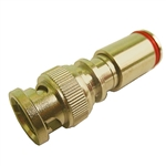 Calrad 75-533G-PS-BNC BNC PermaSeal Compression Gold Male Connector for RG-59
