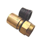 "Calrad 75-534-QS Weather Resistant Compression Type ""F"" Connector for RG6 Quad Shield"