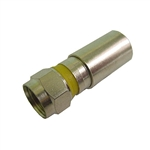 "Calrad 75-534-SN6 Weather Resistant Compression Type ""F"" Connector for RG6"