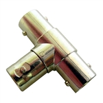 "Calrad Electronics 75-541 ""T"" Style Adapter w/ 3 Female BNC Connectors"