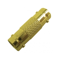 Calrad 75-546G Gold BNC Female to BNC Female Connector - 50 ohm