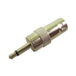 Calrad Electronics 75-553 3.5mm Mini Phone Plug to BNC Type Female Connector