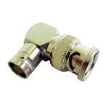 Calrad 75-561 BNC Male to BNC Right Angle Female Adapter