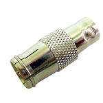 "Calrad Electronics 75-567 BNC Female to Push-on ""F"" Male Adapter"