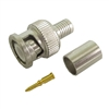 Calrad 75-610<br>BNC Crimp-on Connector for RG-6 3 Pieces