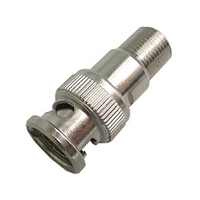 "Calrad Electronics 75-679 ""F"" female to BNC male adapter 75 ohm Version"
