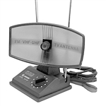 Calrad Electronics 75-701 VHF/UHF/FM Indoor Dish TV Antenna