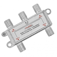 4 Way Digital Splitter, 2.4GHz | 75-713-HG-4 Calrad Electronics