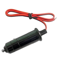 "Calrad Electronics 90-606 Cigarette Lighter Plug w/ 16"" Leads & Fused Plug"