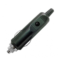 Calrad Electronics 90-614 Cigarette Lighter Plug w/ LED Power Indicator