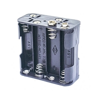 "Calrad Electronics 90-777 Snap-In ""AA"" 8 Cell Battery Holder"