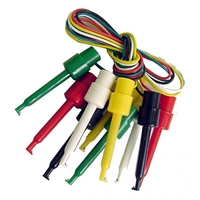 Calrad 90-781 Test Lead Set 5 Color Leads