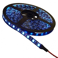 Calrad Blue LED Light Strip, 300 Blue 3-Chip LED High Grade 5-Meter Light Strip on reel 92-300-BU-HG