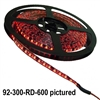 Calrad 92-300-(Select LED Color)-600<br>600 1-Chip LED 5-Meter Light Strip on reel - Select Color