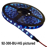 Calrad Electronics 92-300-HG 300 3-Chip LED High Grade 5-Meter Light Strip on reel - Select Color