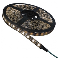 Calrad Red LED Light Strip, 300 Warm White 3-Chip LED High Grade 5-Meter Light Strip on reel 92-300-WW-HG