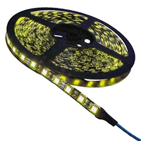 Calrad Yellow LED Light Strip, 300 3-Chip LED High Grade 5-Meter Light Strip on reel 92-300-YL-HG