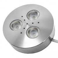 Calrad Electronics 92-302-WH-PC LED Puck Light - Cool White