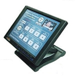 "Calrad Electronics 95-1062-BK-RS232 10.4"" Touchscreen - Black - RS232"