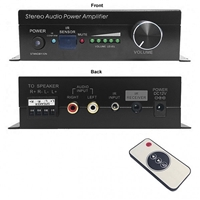 95-2035-IR Calrad Electronics | Stereo Digital Amplifier, IR Controlled, 30 Watt