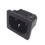 Calrad 95-770-SNAP Chassis Mount AC Male Snap-in Socket