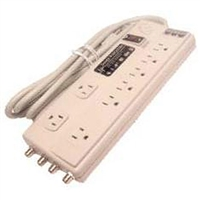 Calrad Electronics 95-788 8 Outlet DBS Surge Protector