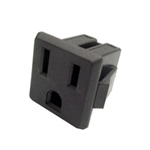 Calrad Electronics 95-790 Chassis Mount AC Receptacle
