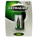 Ultralast UL9V 9 Volt NI-MH Rechargeable Battery