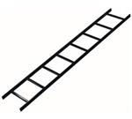 "Middle Atlantic CLB-6 Cable Ladder, 6 ft., 12""W"