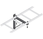 "Middle Atlantic CLB-TSB Triangle Wall Support Bracket, 12""W"