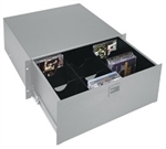 Middle Atlantic DCDP Drawer Partition, 4 RU, CDs