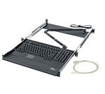 Middle Atlantic RM-KB Middle Atlantic Keyboard Sliding Shelf, 1 RU, w/Computer Keyboard