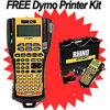 FREE Dymo Rhino 5200 Hard Case Kit when you buy 15 Dymo Labels
