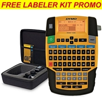 Dymo Rhino 4200 Label Maker Carry Case Kit Half-Off Promo when you buy labels