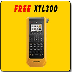 Free Dymo XTL 300 Printer Promotional