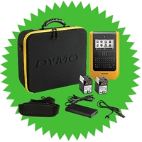 Dymo XTL 500 Label Maker Kit Half-Off Promo with purchase of 48 label rolls