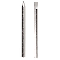 JT-102 1 Conical & 1 Chisel Replacement Tips for  J-060 60 watt Soldering Iron