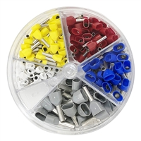 701-997 Eclipse Tools Twin Insulated Wire Ferrule Assortment Pack, 20-12 AWG