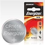 Energizer E-CR1616BP Energizer 3.0 Volt Lithium Coin Battery CR1616
