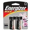 Energizer E93BP-2 Energizer MAX - 2 Pack Standard C Size Battery